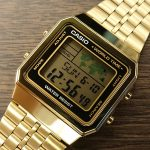 CASIO WORLDTIME GOLD A500W
