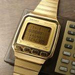 SEIKO VINTAGE MEMO-DIARY GOLD 1984'S